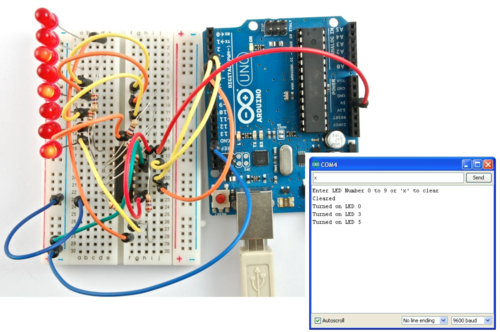 Arduino Lesson 5. The Serial Monitor