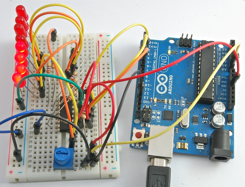 Arduino Lesson 8. Analog Inputs