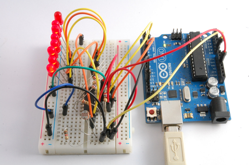 Arduino Lesson 9. Sensing Light