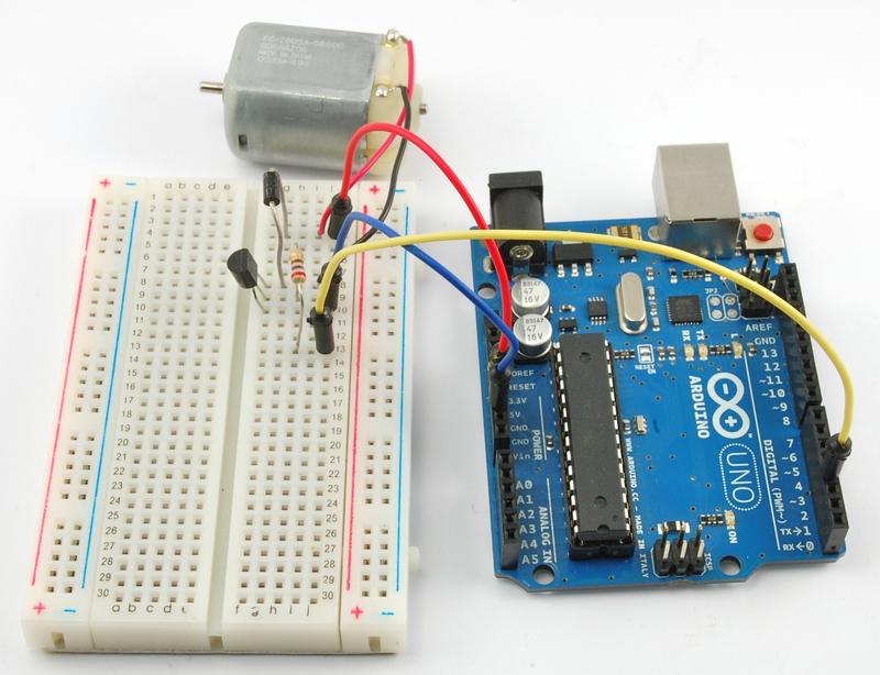 Arduino Lesson 13 Dc Motors