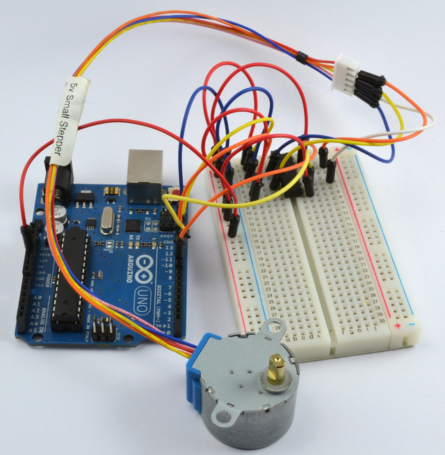 Arduino Lesson 16. Stepper Motors