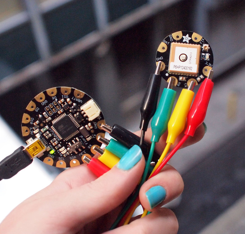 Overview flora wearable gps adafruit learning system