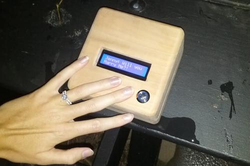 Reverse Geocache Box