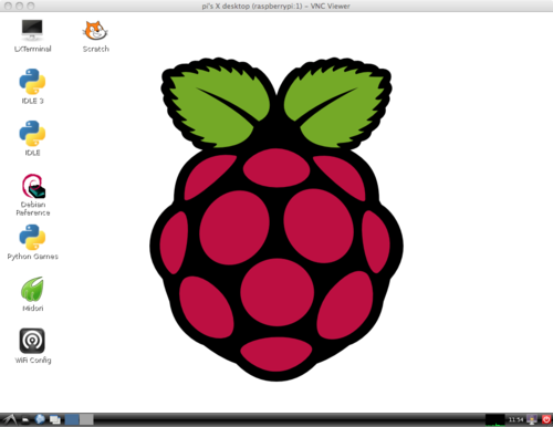 Adafruit's Raspberry Pi Lesson 7. Remote Control with VNC