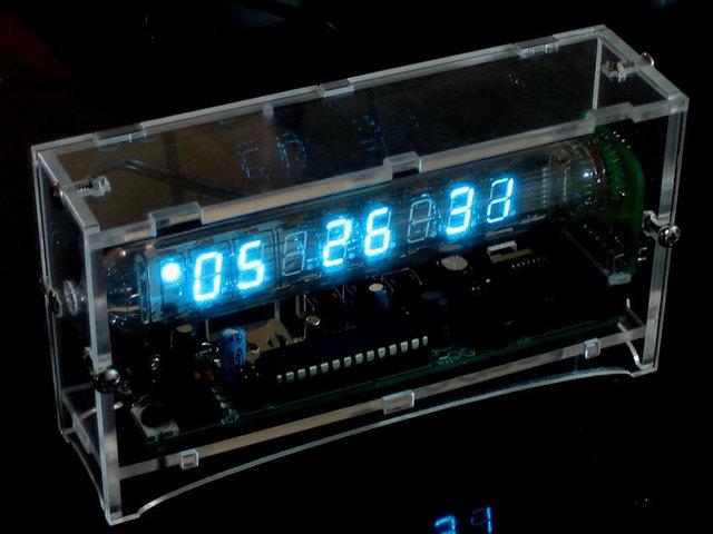 Ice Tube Clock kit [v1.1] ID: 194 - $85.00 : Adafruit Industries ...