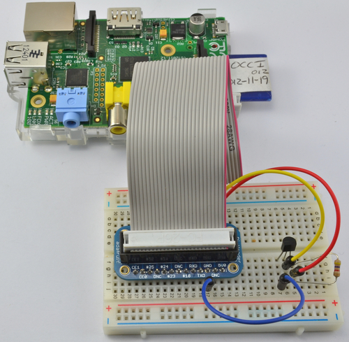 Adafruit's Raspberry Pi Lesson 11. DS18B20 Temperature Sensing