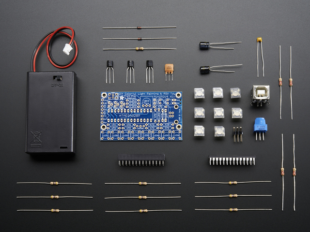 Adafruit MiniPOV3 Kit