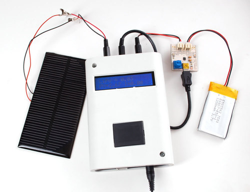 Portable Solar Charging Tracker