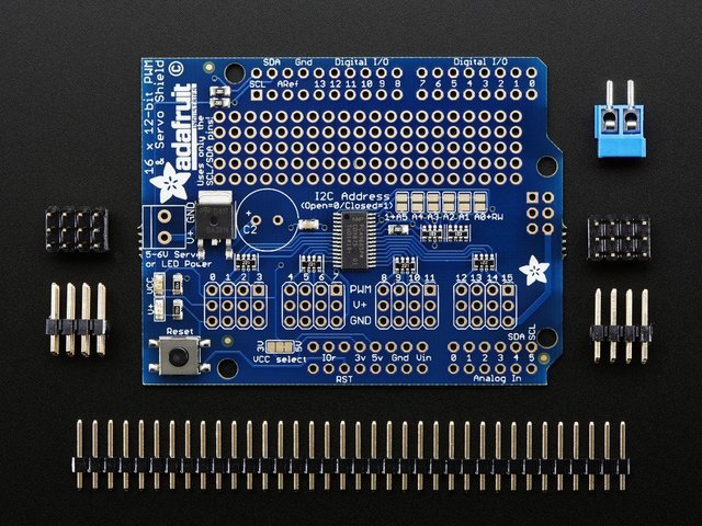 Adafruit 16-channel PWM/Servo Shield