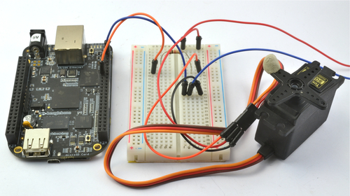 Controlling a Servo with a BeagleBone Black