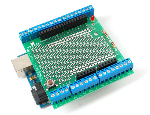 Adafruit Proto Screw Shield