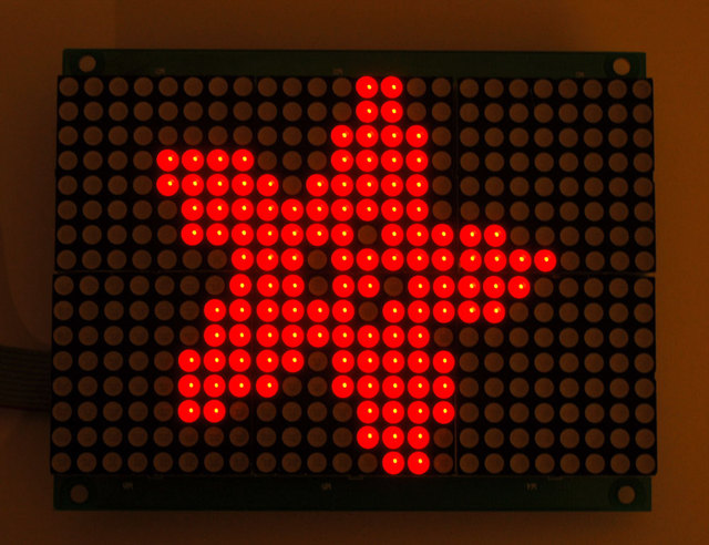 16x24 LED Matrix