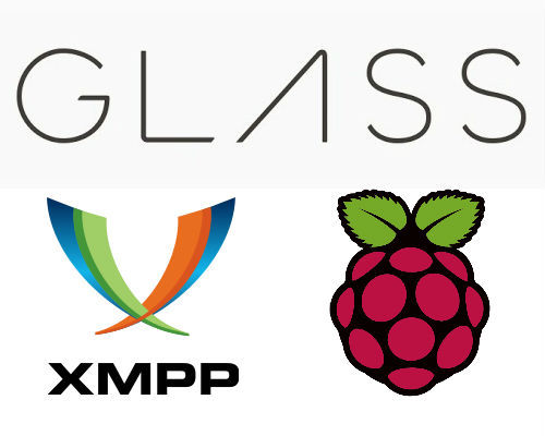 Google Glass talks to Raspberry Pi with XMPP