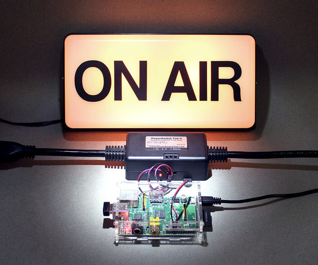 "Internet Streaming ""On Air"" Sign"