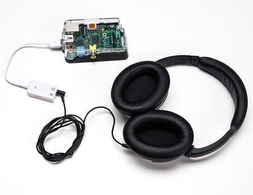 USB Audio Cards with a Raspberry Pi