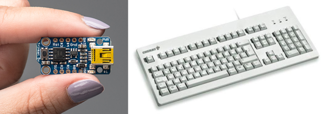 Trinket USB Keyboard