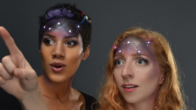 Space Face LED Galaxy Makeup