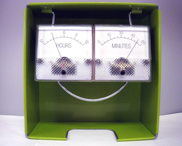 Trinket Powered Analog Meter Clock