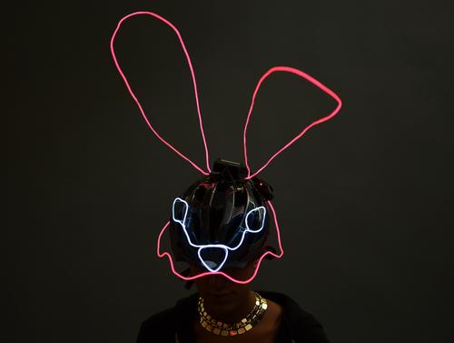 EL Wire Animal Masks
