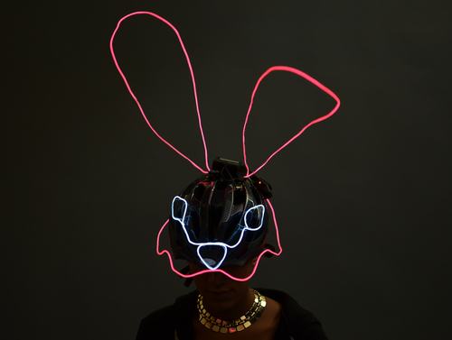 EL Wire Animal Masks
