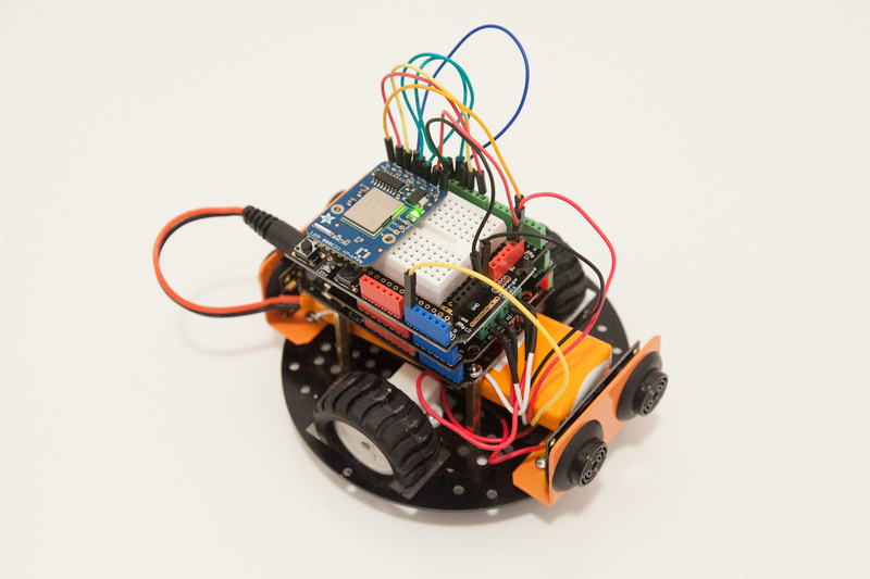 Arduino sketch wifi controlled mobile robot adafruit