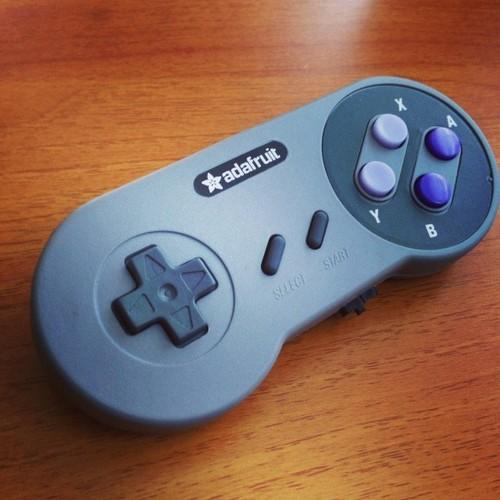 SNES EZ Key Bluefruit Game Pad