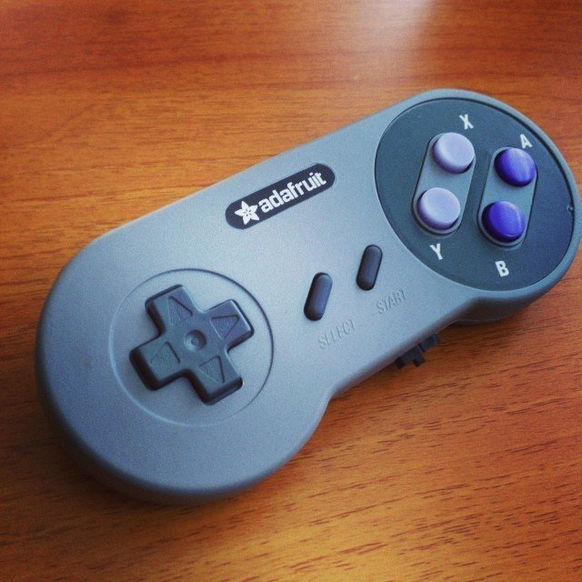 SNES EZ Key Bluefruit Game Pad