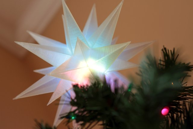 LED Trinket Tree Topper