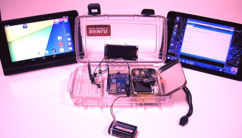 Android tablets programming arduino with and