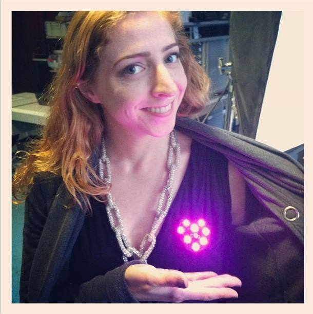 Light-Activated Pixel Heart