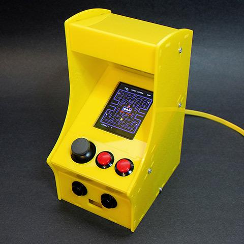 Cupcade: the Raspberry Pi Micro Arcade Cabinet