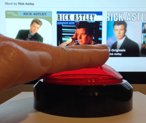 Wireless Music Veto Button for your Office