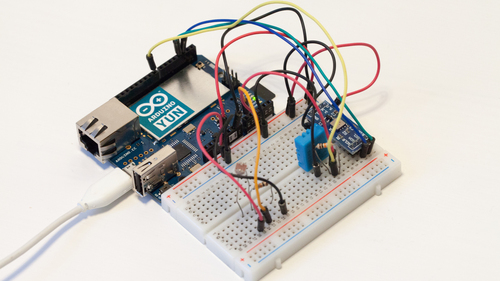 Cloud connected weather station with the arduino yun temboo