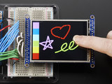 "Adafruit 2.8"" Color TFT Touchscreen Breakout v2"