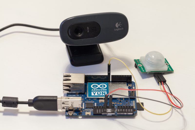 Introduction wireless security camera with the arduino yun adafruit learning system