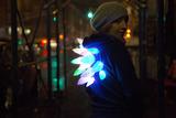 LED Stego Flex Spike Hoodie