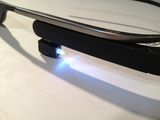How to use Google Glass flashlight
