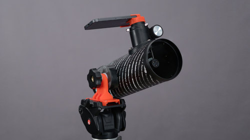 3D Printed Camera Tripod Adapter for Telescope