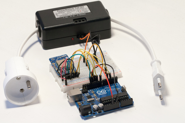 Wireless Power Switch with Arduino & the CC3000 WiFi Chip