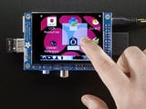 "Adafruit 2.8"" PiTFT - Capacitive Touch"
