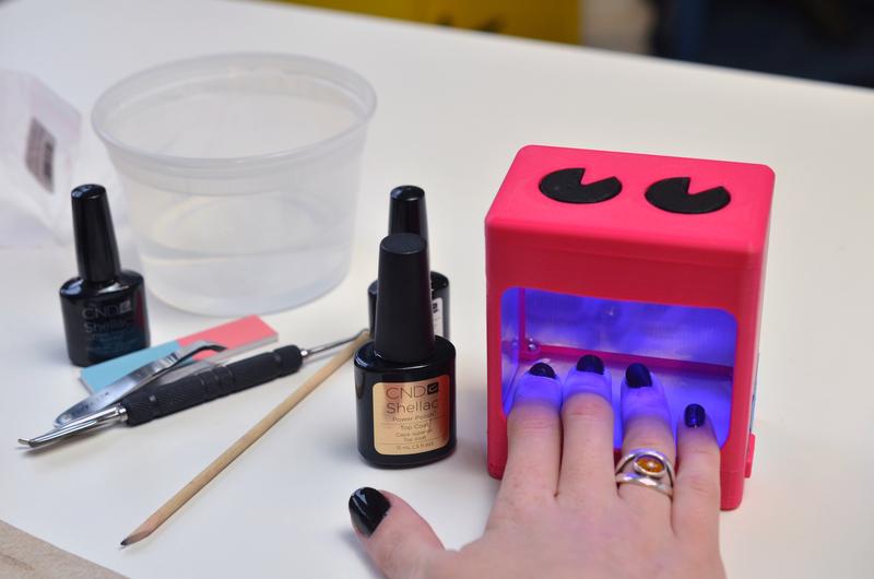 Printed Circuit Board Production Using Uv Nail Curing Lamp