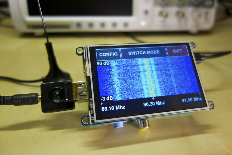 Overview freq show raspberry pi rtl sdr scanner