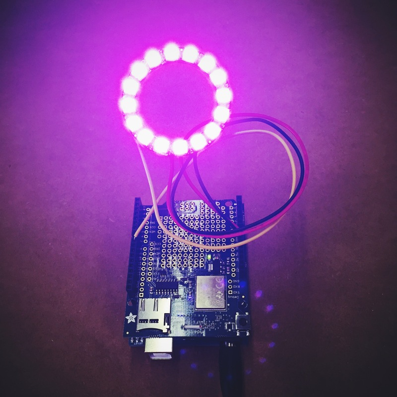 Help Connecting A Neopixel Ring - Forum