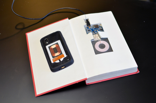 Qi Charging Phone Case & Book