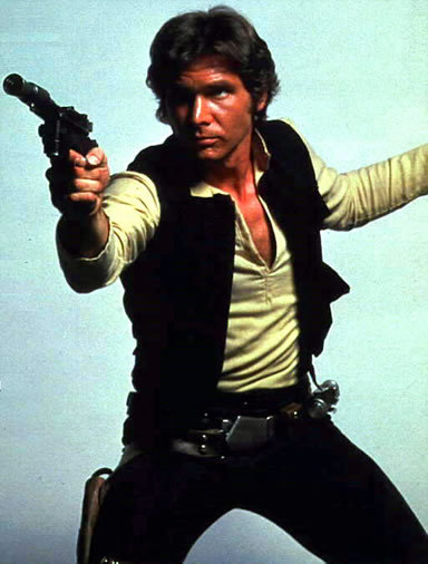 Han Solo Blaster Cosplay