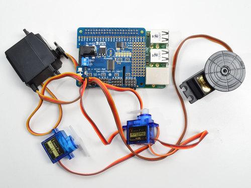 Adafruit 16-Channel PWM/Servo HAT for Raspberry Pi