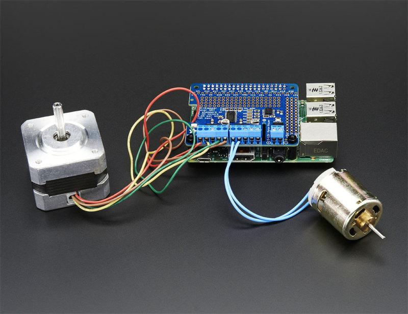 Downloads | Adafruit DC and Stepper Motor HAT for Raspberry Pi | Adafruit Learning System