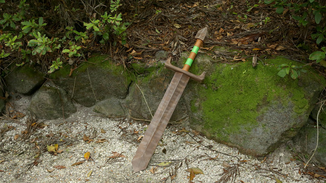 Link's 3D Printed Wooden Sword
