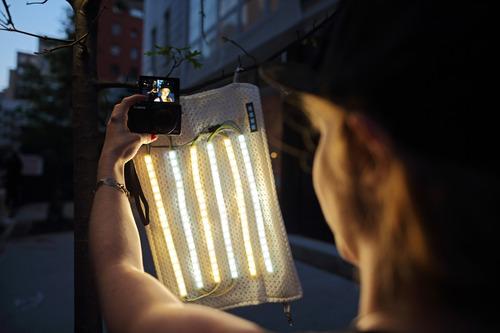 Roll-up Video Light