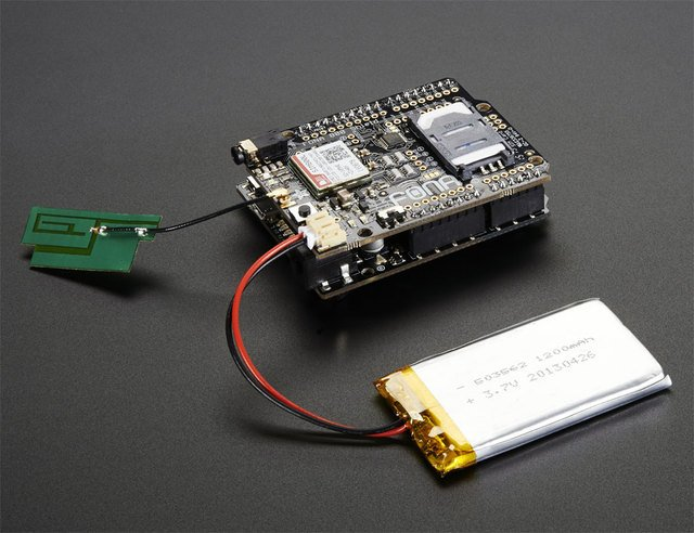 Adafruit FONA 800 Shield